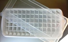 100均製氷皿・氷つくり中身写真画像